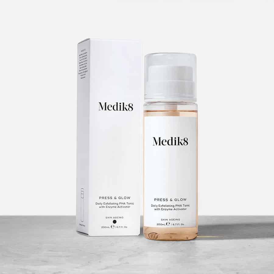 Medik8 Press & Glow Glycolic acid toner