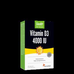 SlimJOY Vitamin D3 4000 IU Ireland Hair Loss Joint Pain Weight Loss